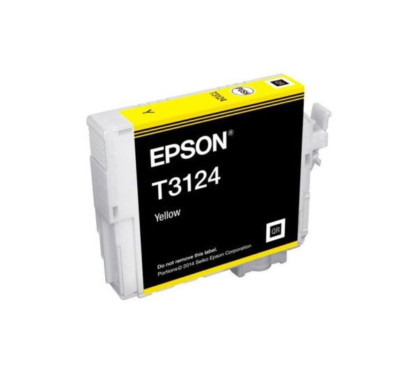 Genuine Epson T3124 UltraChrome Hi-Gloss2 – Yellow