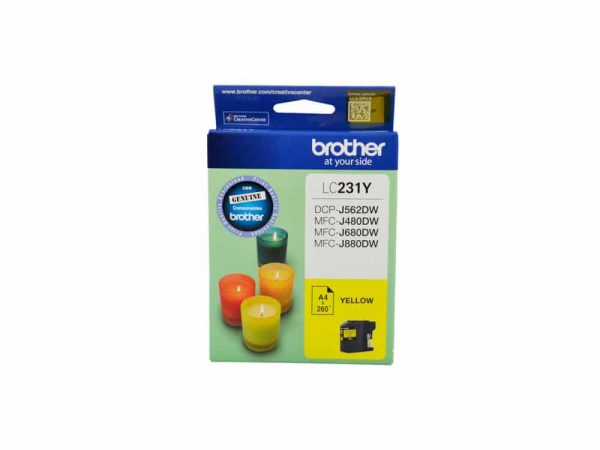 Genuine Brother LC231 Yellow