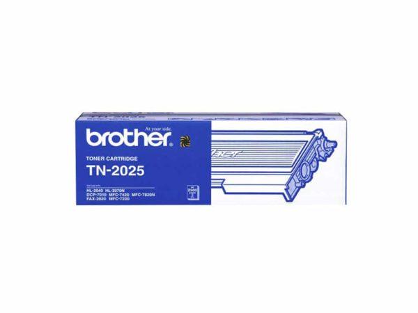 Genuine Brother TN2025 Black Toner