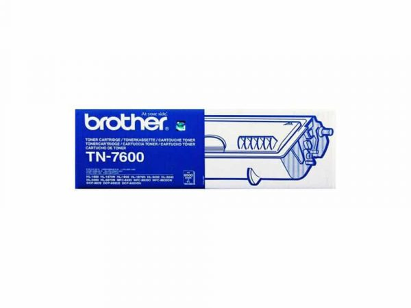 Genuine Brother TN7600 Black Toner