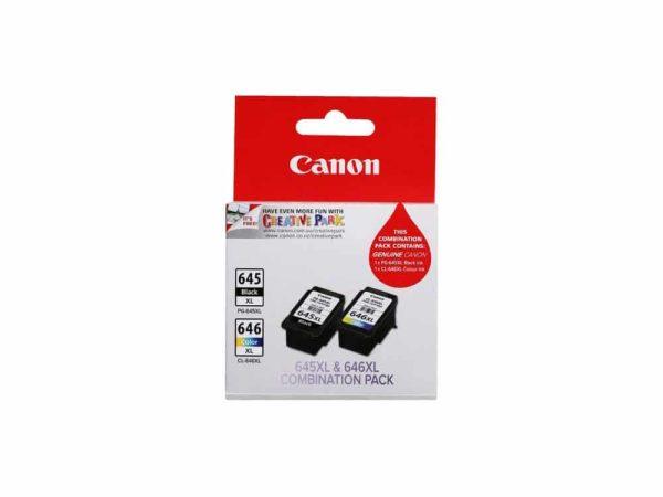 Genuine Canon PG645 XL Black & CL646 XL Colour – Twin Pack