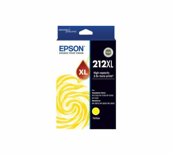 Genuine Epson 212 Yellow XL