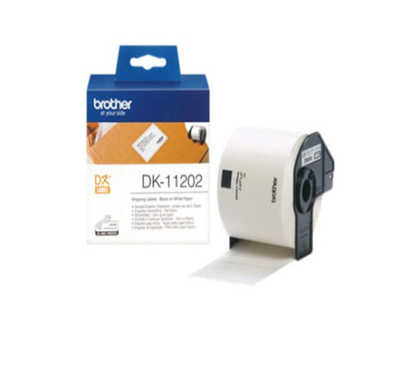 Genuine Brother DK11202 300 Shipping/Name Badge 300 Labels 62mmx100mm