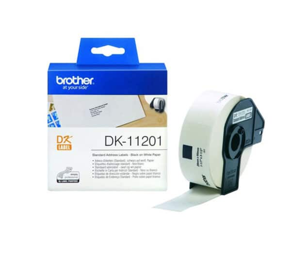 Genuine Brother DK11201  Label 29mm x 90mm – 400 per roll