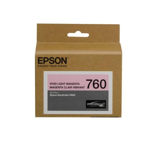 Genuine Epson  760 Light Magenta