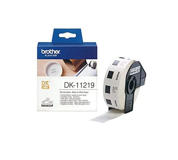 Genuine Brother DK11219 1200 12mm Round Labels