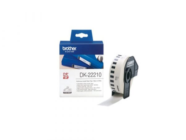 Genuine Brother DK22210 Continous Tape 29mm x 30.48 metres