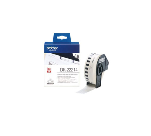 Genuine Brother DK22214 Continuous Tape 12mm x 30.48 m
