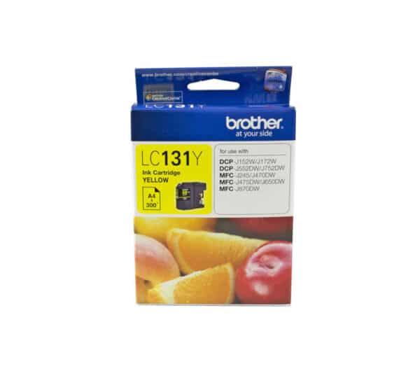 Genuine Brother LC131 Yellow