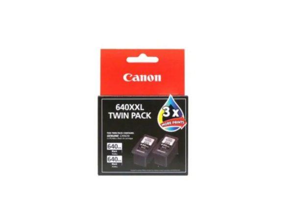 Genuine Canon PG640 XXL Black Twin Pack