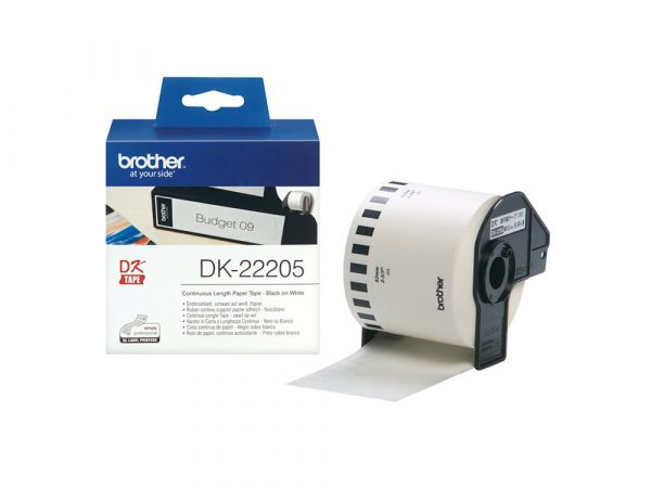 Genuine DK22205 Continuous Tape 62mm x 30.48 metre