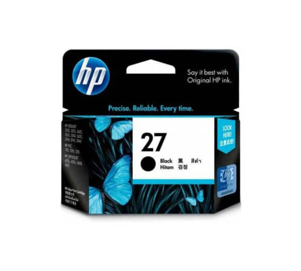Genuine HP 27 Black