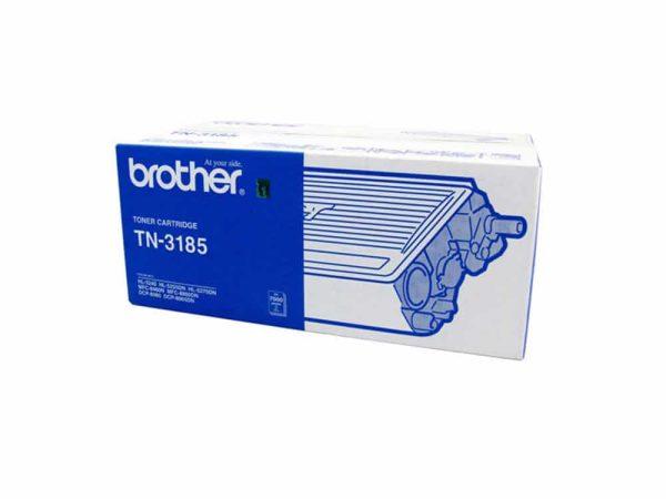 Genuine Brother TN3185 Black Toner