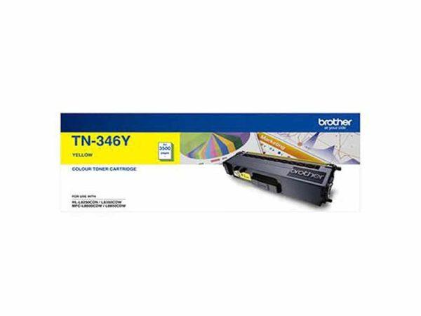 Genuine Brother TN346 Yellow Toner