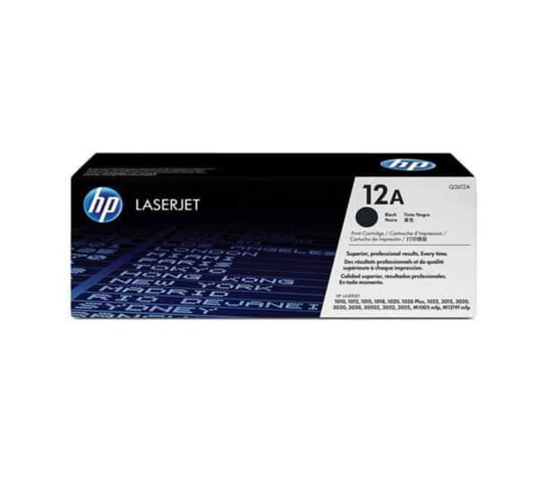 Genuine HP 12A Black Toner