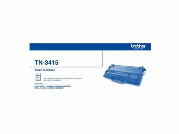 GenuineBrother TN3415 Black Toner