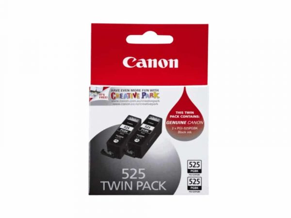 Genuine Canon PGI525 Black Twin Pack