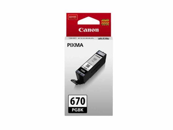 Genuine Canon PGI670 Black