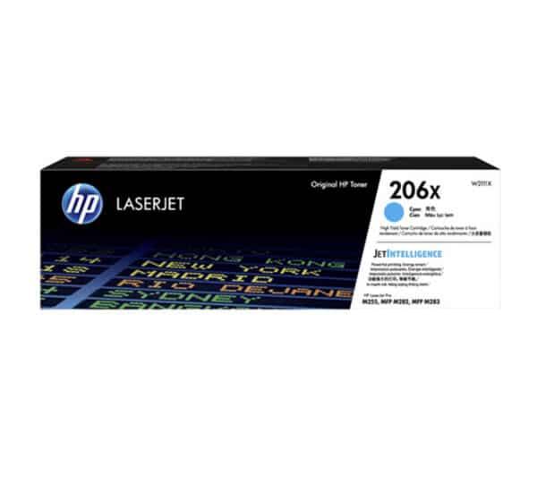 Genuine HP 206X Cyan Toner – WT2111X