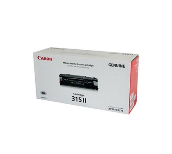 Genuine Canon CART 315II Black Toner High Yield