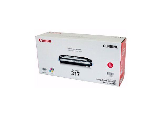 Genuine Canon CART317 Magenta Toner