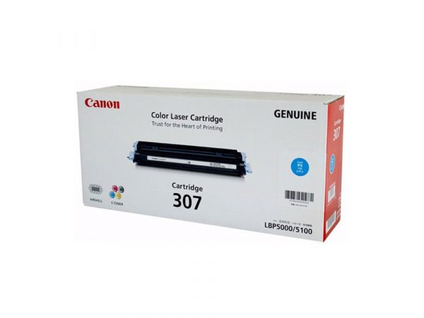 Genuine Canon CART307 Cyan Toner