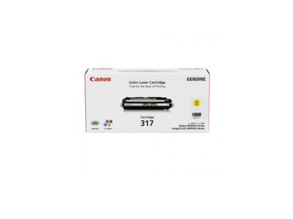 Genuine Canon CART317 Yellow Toner