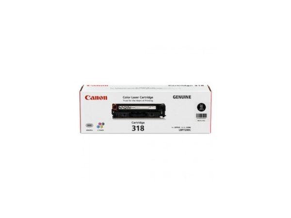 Genuine Canon CART318 Black Toner
