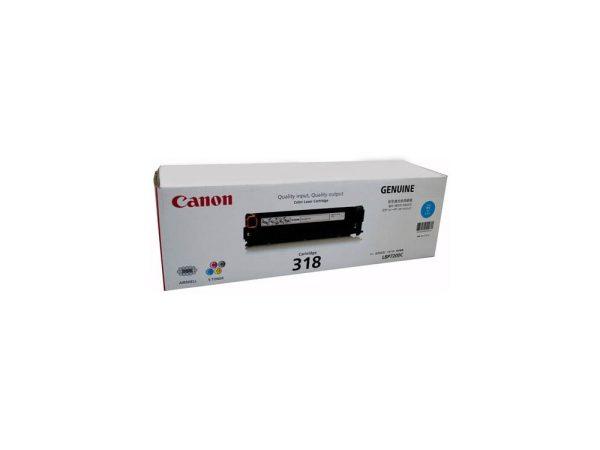 Genuine Canon CART318 Cyan Toner