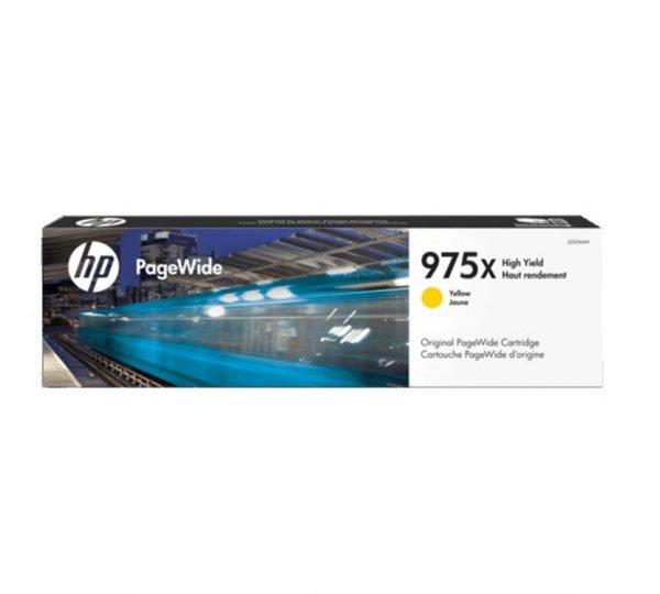 Genuine HP 975X Yellow Toner