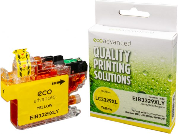 Ecoadvanced Brother LC3329 XL Yellow