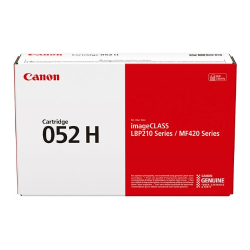 Genuine Canon CART052II High Yield Black Toner