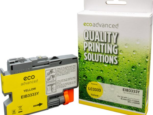 Ecoadvanced Brother LC3333 XL Yellow