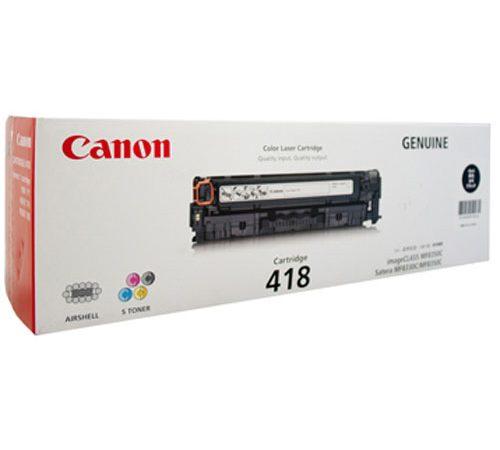 Genuine Canon CART418 Black Toner