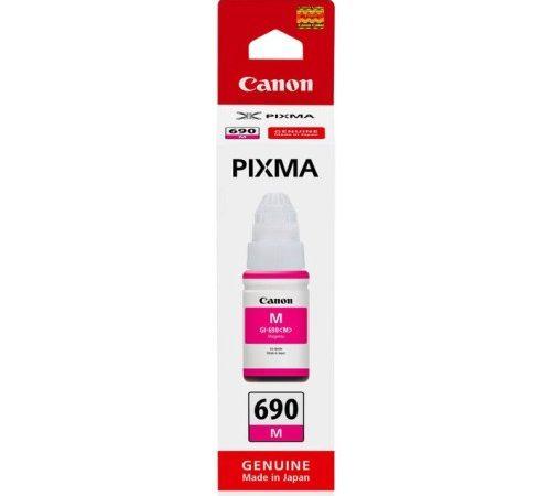Genuine Canon GI690 Magenta Ink Bottle