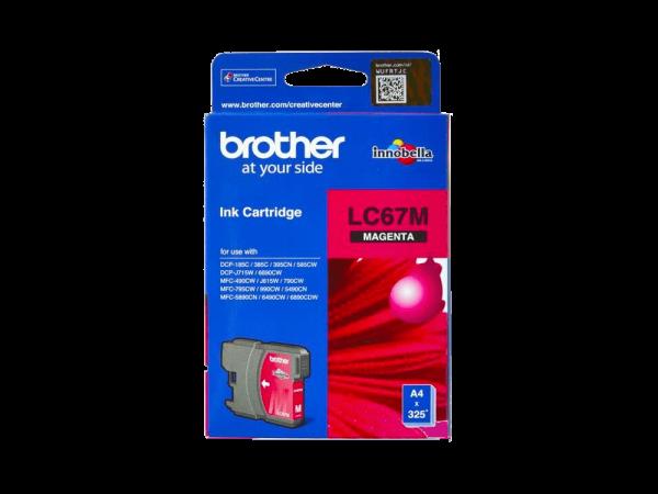 Genuine Brother LC67 Magenta